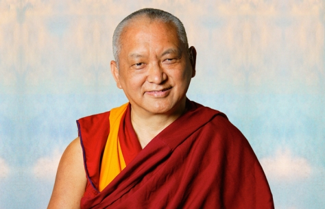Lama Zopa Rinpoche in Portland, Oregon in 2006. Photo John Berthold.