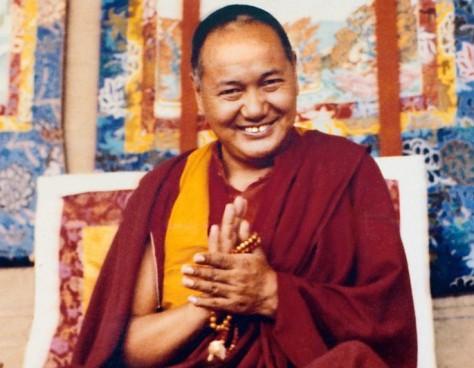 Lama Yeshe, Kopan Monastery, Nepal, 1980. Photo Lama Yeshe Wisdom Archive.