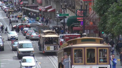 San Francisco traffic. Photo: Shutterstock.